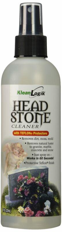 Klean Logik Headstone Cleaner to Restore Grave Markers 8 Fl Oz (237mL)