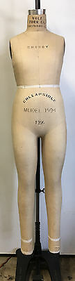 Wolf 1994 Full Body Form 12 12 Collapsible Dress Form - Made In Usa -