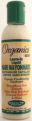 ORGANICS BY AFRICA'S BEST LEAVE-IN LIQUID MAYO HAIR MAYONNAISE TREATMENT 6 (Best Leave In Treatment)