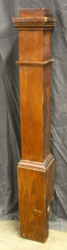 """49"""" Antique Vintage Victorian Wood Wooden Staircase Newel Post Column Baluster"""