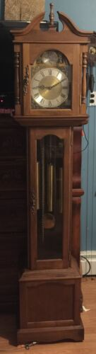 Grandfather Clock Emperor model 120 with West German Model 100M Movement
