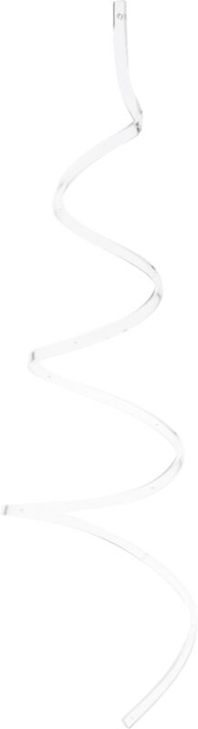 "Plymor Acrylic Spiral Ornament Hanger, 27.5""H x 8.5""W (Holds 12 Ornaments)"