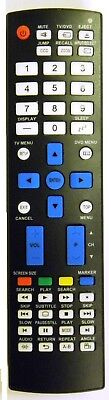 Brand New Replacement JVC RM-C1221 TV/DVD Remote - Replacement JVC RM-C1221