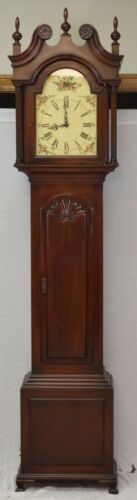 Colonial Co. John Goodard Chippendale Grandfather Clock Henry Ford Collection