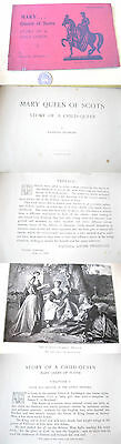 Mary Queen Of Scots Story Of A Child Queen 1906 Frances Hepburn Illust