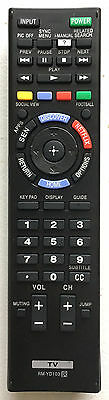 US New Sony Replacement Remote Control RM-YD103 For SONY BRAVIA LED HDTV