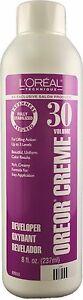 L'Oreal Oreor Creme Hair Color Developer 30 Volume 237mL