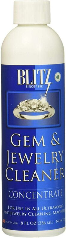 Blitz Gem And Jewelry Cleaner Concentrate 8 Oz 6 Pack Soluti