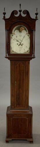 Rare GRIFFITH OWEN Philadelphia Tall Case Grandfather Clock circa 1790