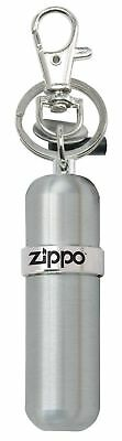 High Polished - Zippo Fuel Canister with Key Ring, High Polished Silver, 121503, New In Box