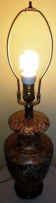 Vintage Handmade Exquisite Japanese Table Lamp.