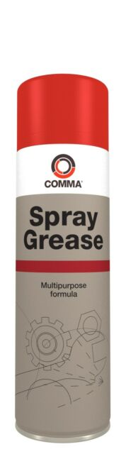 COMMA SG500M 500ML SPRAY GREASE FREE TRACKED POST