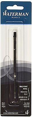 Waterman Ballpoint Pen Refill Black Fine  Pt New In - Waterman Ballpoint Pen Refill