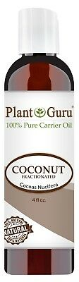 Coconut Essential Oils Massage Oil - Fractionated Coconut Oil 4 oz Carrier for Aromatherapy, Essential Oils, Massage