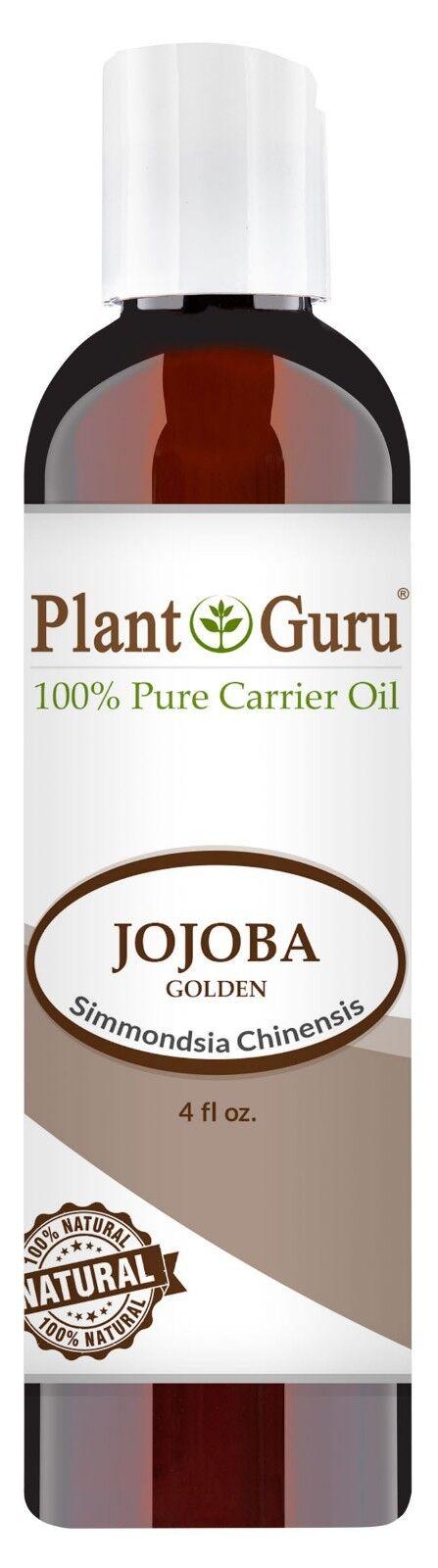 Jojoba Oil 4 oz. Cold Pressed 100% Pure Natural Carrier - Sk