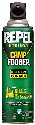 REPEL* 16 oz Outdoors CAMP FOGGER Kills On Contact MOSQUITOES Insect Killer 1a