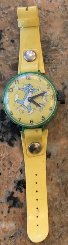 Vintage Marx Made In Hong Kong Tom And Jerry Watch