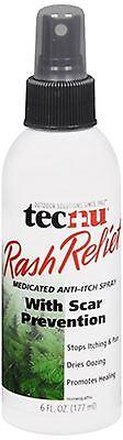 Medicated Anti Itch Spray - Tecnu Rash Relief Medicated Anti-Itch Spray 6 oz