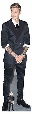 t Suit - Prominente - Pappaufsteller Standy - 49x177 cm (Justin Bieber Pappaufsteller)