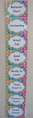 Teacher Made Learning Resource Complete Behavior Chart Classroom - Classroom Behavior Charts