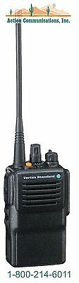 New Vertex Standard Vx 821  Uhf 450 512 Mhz  5 Watt  16 Channel Two Way Radio