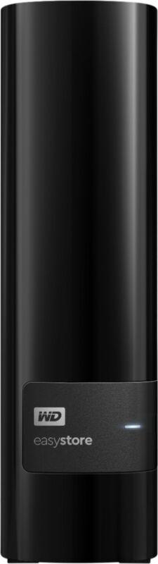 WD - easystore 10TB External USB 3.0 Hard Drive - Black