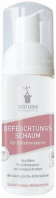 150 ml Befeuchtungsschaum BIO für Toilettenpapier Nr.89 von Bioturm Naturkosmeti