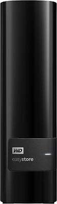 WD - Easystore 12TB External USB 3.0 Hard Drive - Black