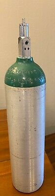 Lot Of 7 D Medical Oxygen Tanks 425 Liters Current Test Date
