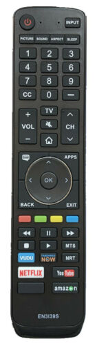 New Usbrmt Remote En3i39h For Hisense Smart Tv En3i39s Netflix Amazon Youtube