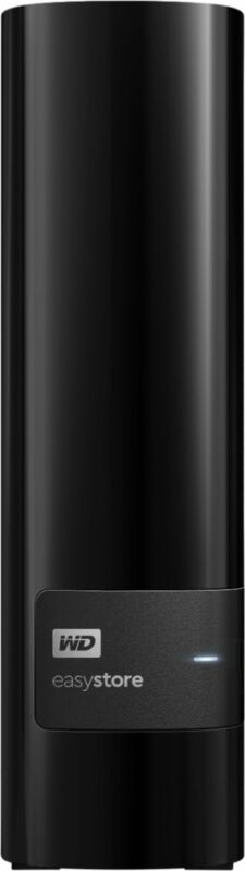 WD - easystore 14TB External USB 3.0 Hard Drive - Black