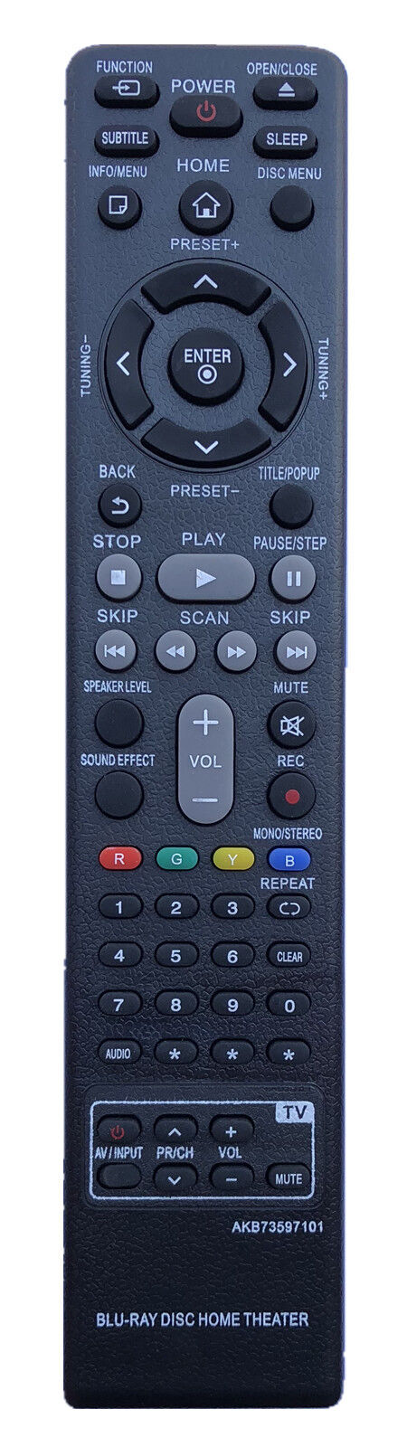New Remote Control AKB73597101 For LG Blu-Ray Disc Home Thea