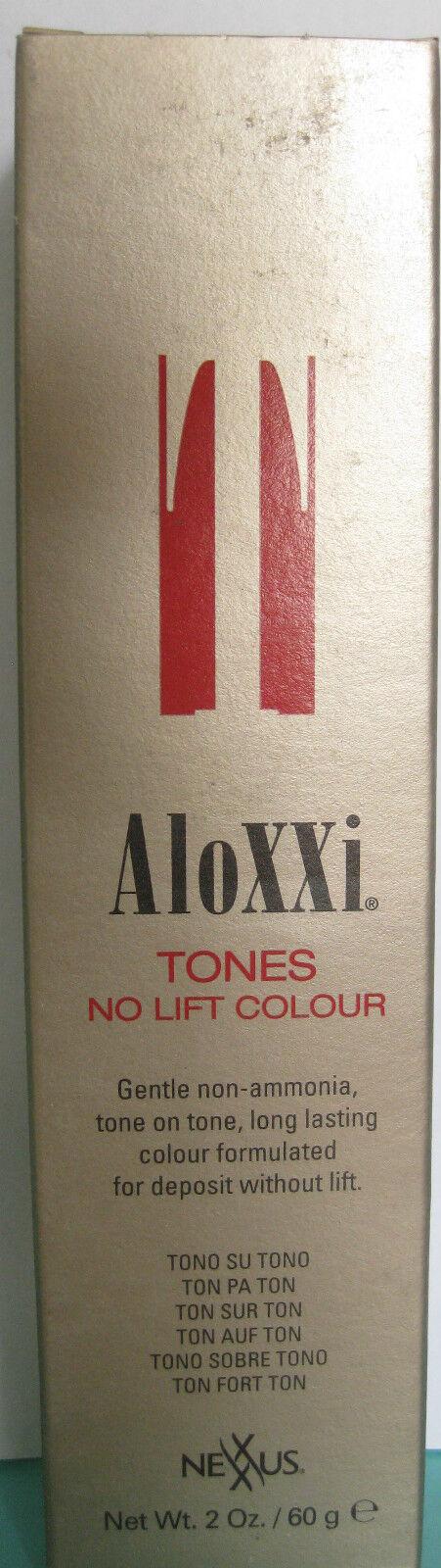 Nexxus Aloxxi Tones No Lift Colour Demi Permanent 2 Oz Gold Box (op)