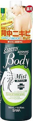 Sana Esteny Medicated Body Mist AC 300ml for Preventing Acne From Japan