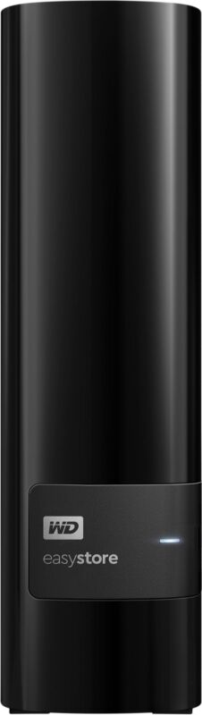 WD - easystore 8TB External USB 3.0 Hard Drive - Black