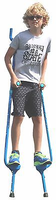 Flybar Master Stilts For Kids (Large), Adjustable Height - Ages 10 & Up - - Kids Stilts