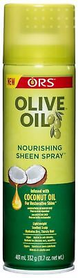 ORS Olive Oil Nourishing Sheen Spray infused with Coconut Oil 11.7 oz (2 pack) ()