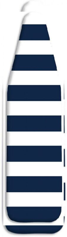"""Whitmor Standard Ironing Cover and Pad, 54"""" x 15"""", Navy Stripe,"""