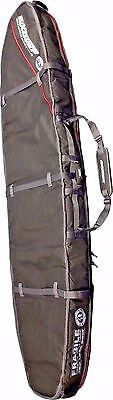 BLOCK SURF TRIPLE SHORT BOARD COFFIN SURFBOARD TRAVEL BAG WORLD TRAVELER -