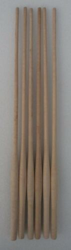 """WOOD CHAIR SPINDLES 21 1/2"""" high lot of 6 NEW MAPLE BULBOUS TURNED WINDSOR STYLE"""