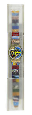 SWATCH - THE PEOPLE, 1992  MODEL GZ126 VINTAGE EARLY WITH ORIGINAL TAGS