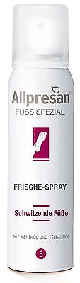 Allpresan Nr. 5 Fuß Frische Spray für Schwitzende Füsse  100 ml  ()