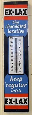 Porcelain EXLAX Chocolated Laxative PORCELAIN THERMOMETER 36