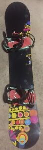 Snowboard burton feather 147cm