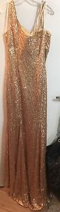 Size 6 sequin prom dress