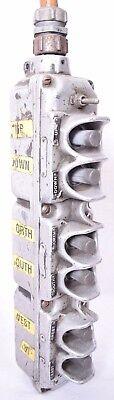 American Crane Hoist 6 Button Hand Control 14164