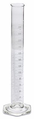 Corning Pyrex 3024 Single Metric Scale Glass Graduated Cylinder 250ml Each