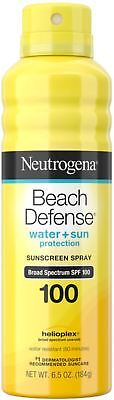 Neutrogena Beach Defense Body Spray Sunscreen SPF100, Water-Resistant 6.5 oz
