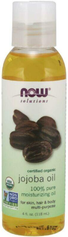 Now Solutions, Organic Jojoba Oil, Moisturizing Multi-Purpos
