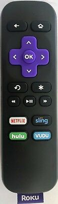 Original Roku RC108 Remote Control ROKU 1 2 3 4 LT HD XD XS XDS w INSTANT REPLAY